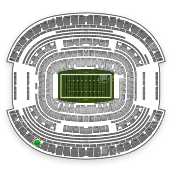 NFL at AT&T Stadium Section 419 View