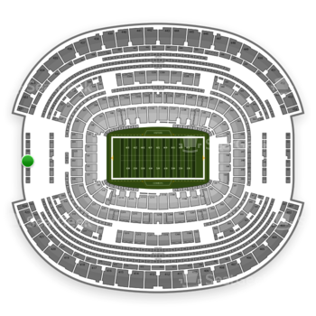 NFL at AT&T Stadium Section 427 View
