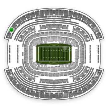 NFL at AT&T Stadium Section 433 View