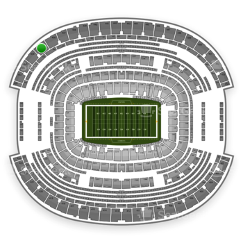 NFL at AT&T Stadium Section 435 View