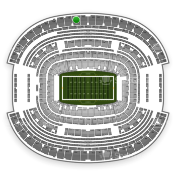 NFL at AT&T Stadium Section 441 View