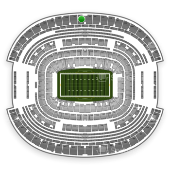 NFL at AT&T Stadium Section 442 View