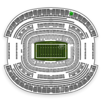 NFL at AT&T Stadium Section 447 View