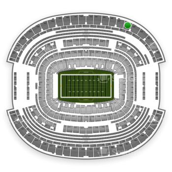 NFL at AT&T Stadium Section 448 View