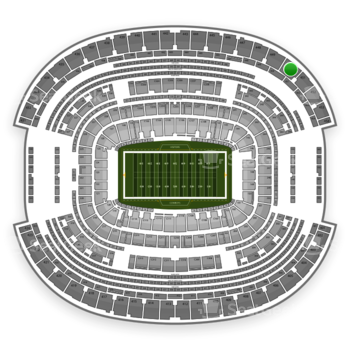 NFL at AT&T Stadium Section 450 View