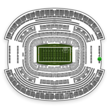 NFL at AT&T Stadium Section 456 View