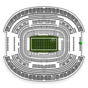 NFL at AT&T Stadium Section 458 View