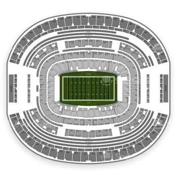 Dallas Cowboys at AT&T Stadium Section 106 View
