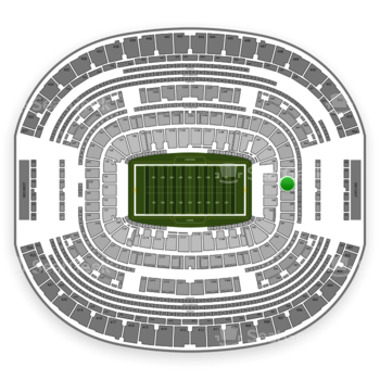 Dallas Cowboys at AT&T Stadium Section 247 View