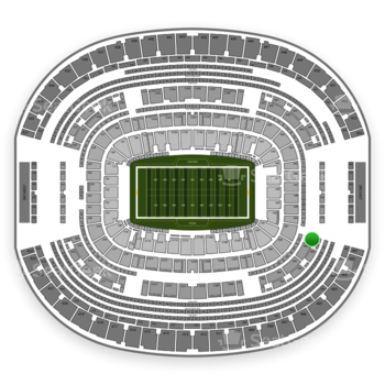 Dallas Cowboys at AT&T Stadium Section 301 View