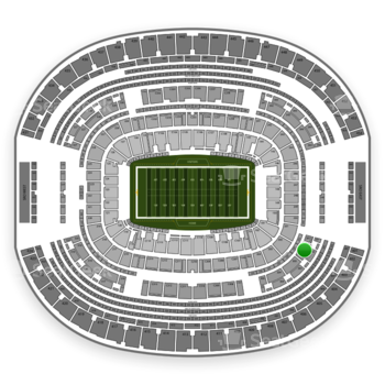 Dallas Cowboys at AT&T Stadium Section 302 View