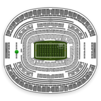 Dallas Cowboys at AT&T Stadium Section 323 View