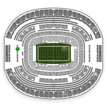 Dallas Cowboys at AT&T Stadium Section 325 View