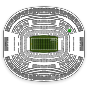 Dallas Cowboys at AT&T Stadium Section 344 View