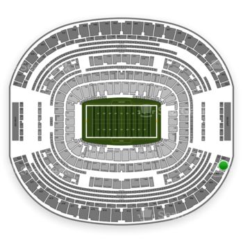 Dallas Cowboys at AT&T Stadium Section 402 View