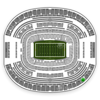 Dallas Cowboys at AT&T Stadium Section 405 View