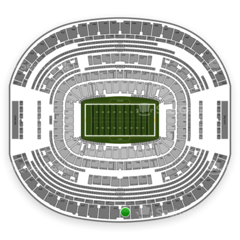 Dallas Cowboys at AT&T Stadium Section 412 View
