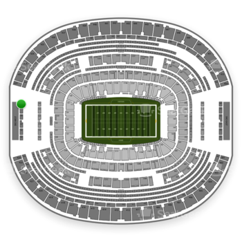 Dallas Cowboys at AT&T Stadium Section 430 View