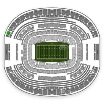 Dallas Cowboys at AT&T Stadium Section 432 View