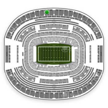 Dallas Cowboys at AT&T Stadium Section 441 View