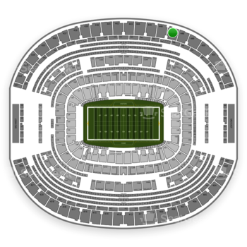 Dallas Cowboys at AT&T Stadium Section 447 View
