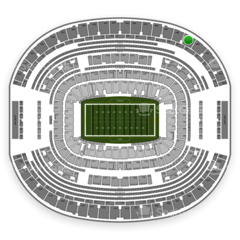 Dallas Cowboys at AT&T Stadium Section 449 View