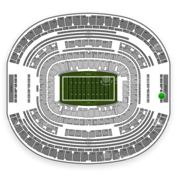 Dallas Cowboys at AT&T Stadium Section 456 View