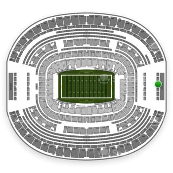Dallas Cowboys at AT&T Stadium Section 458 View