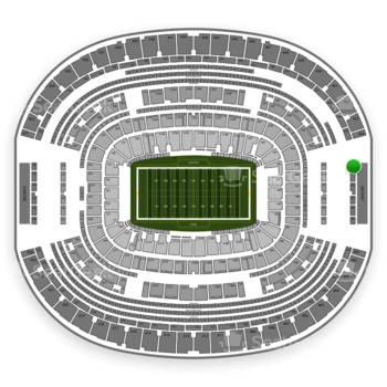 Dallas Cowboys at AT&T Stadium Section 460 View