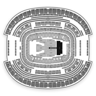 AT&T Stadium Seating Chart Concert