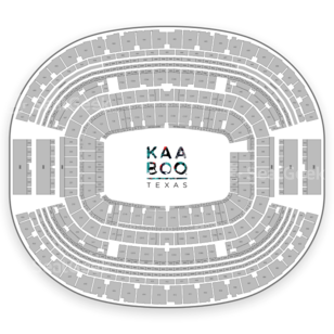 AT&T Stadium Seating Chart Music Festival
