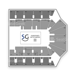 American Bank Center Seating Chart Dance Performance Tour