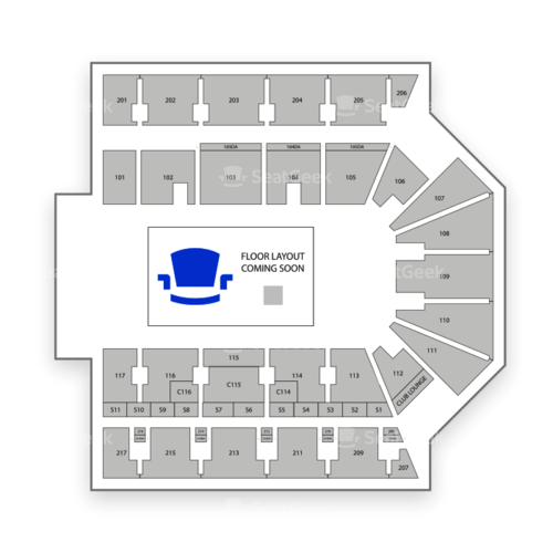 American Bank Center Seating Chart Concert
