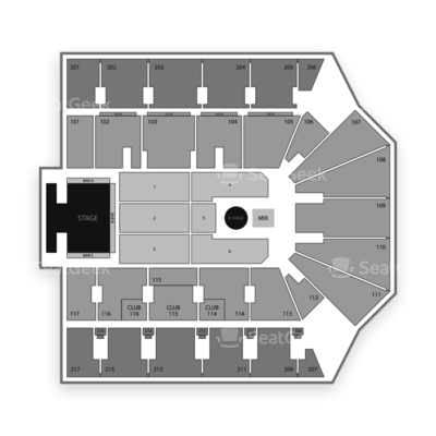 American Bank Center Seating Chart New Kids On The Block