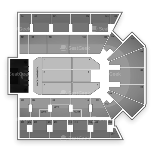 American Bank Center Seating Chart