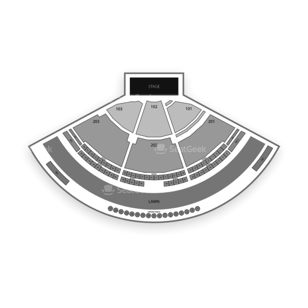 Vina Robles Amphitheatre Seating Chart Concert