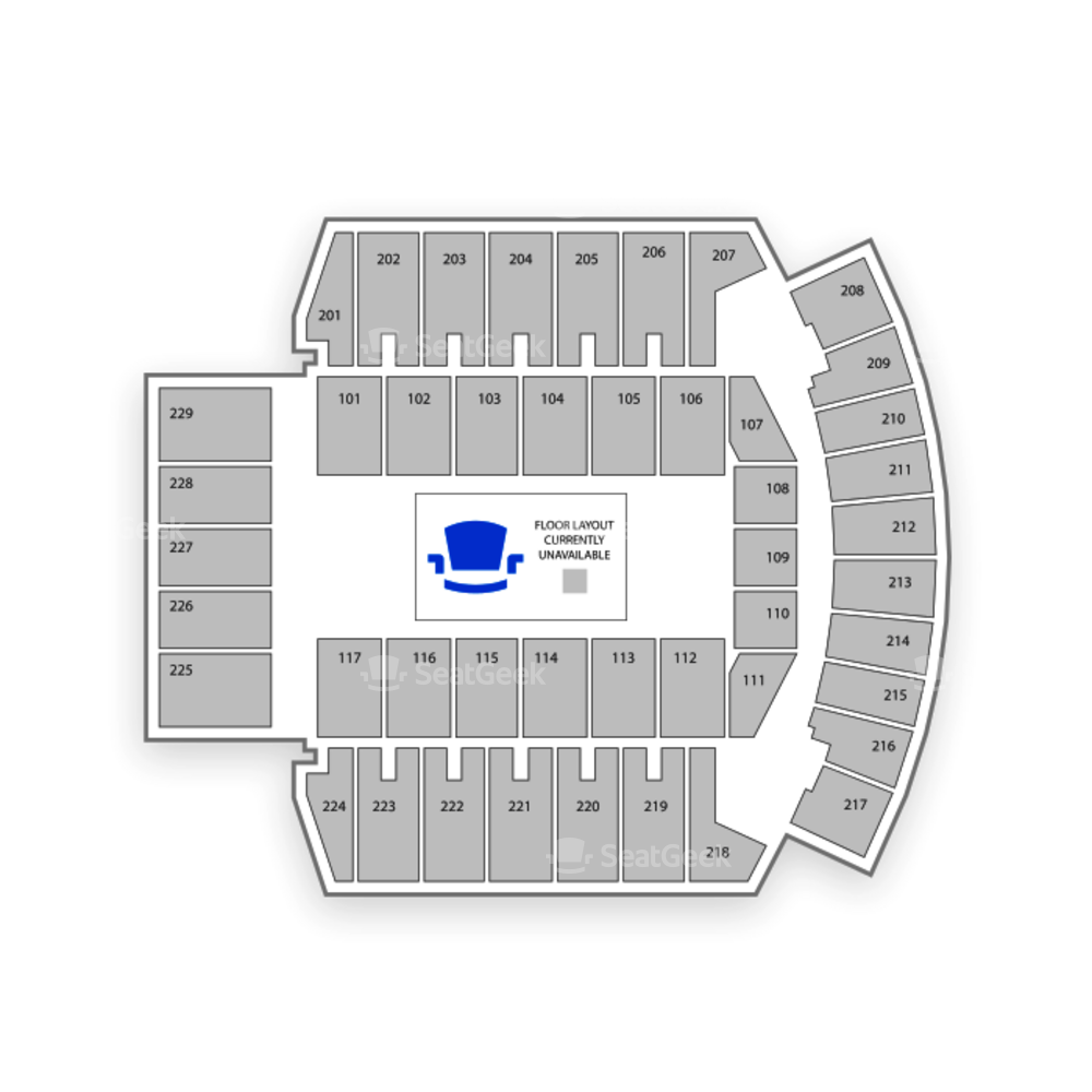 Bismarck Event Center Seating Chart Family