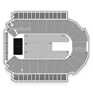 Budweiser Events Center Seating Chart Concert