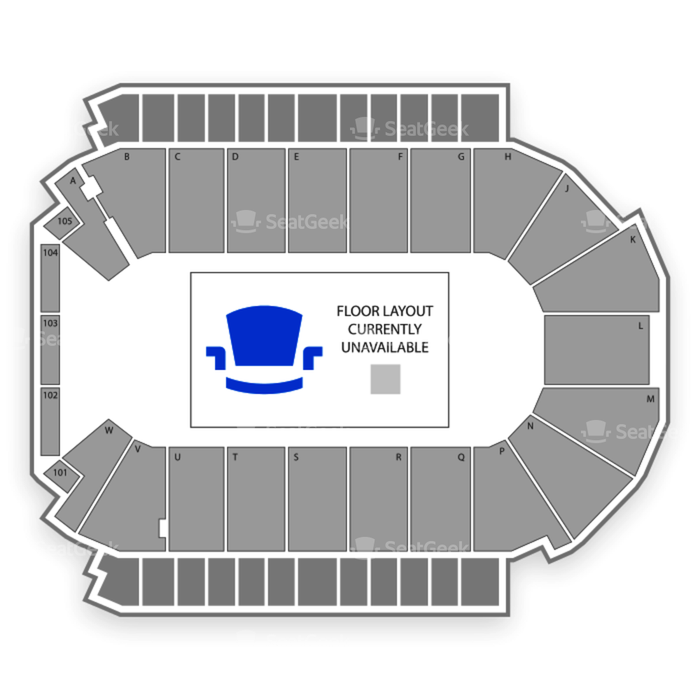 Colorado Eagles Seating Chart