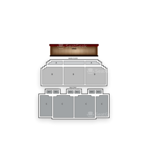 Paramount Arts Center Seating Chart