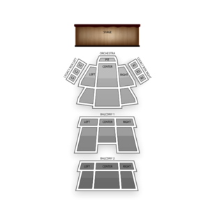 Carolina Theatre Seating Chart Dance Performance Tour