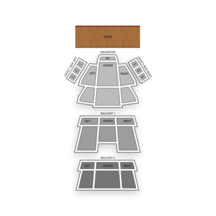 Carolina Theatre Seating Chart Classical Opera