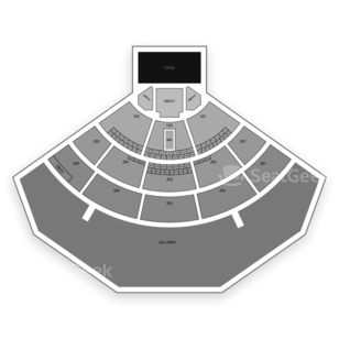 Mattress Firm Amphitheatre Seating Chart Concert