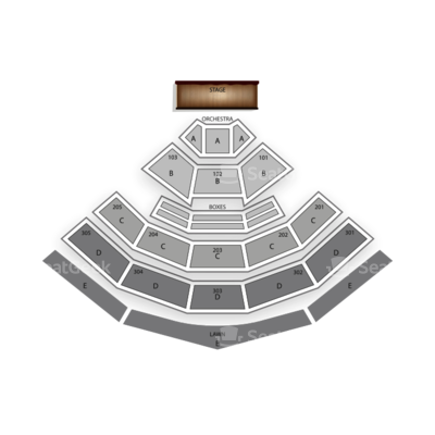 Sleep Train Amphitheatre seating chart Motley Crue