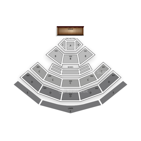 Sleep Train Amphitheatre seating chart Luke Bryan