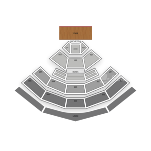 Sleep Train Amphitheatre Seating Chart Comedy