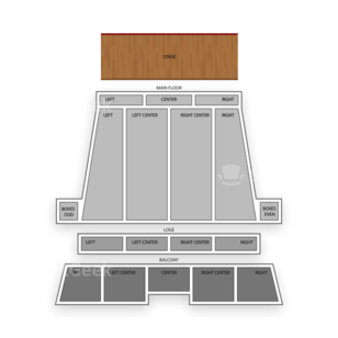 Stranahan Theater Seating Chart Dance Performance Tour
