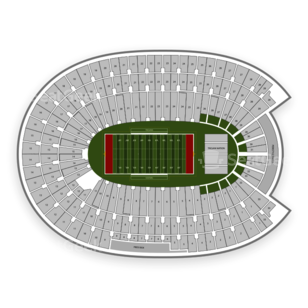 Los Angeles Memorial Coliseum Seating Chart NCAA Football