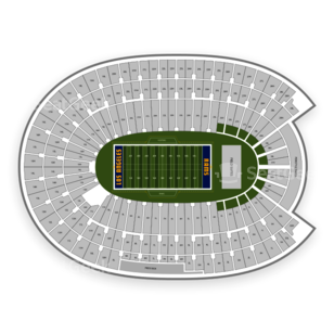 Los Angeles Memorial Coliseum Seating Chart Football