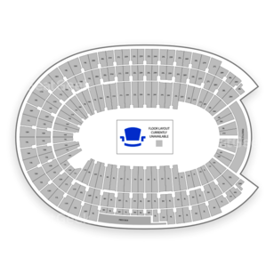Los Angeles Memorial Coliseum Seating Chart Concert